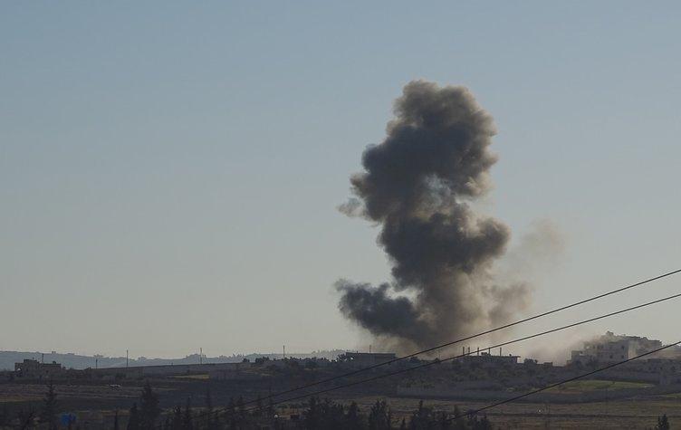 Rusya'nın Suriye'deki hava saldırıları