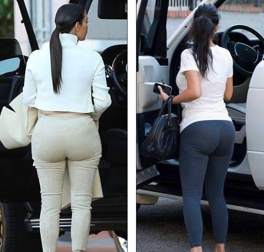 Kim'in kalçasının sırrı ortaya çıktı!