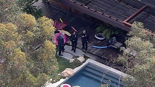 Demi Moore'un havuzunda ceset bulundu