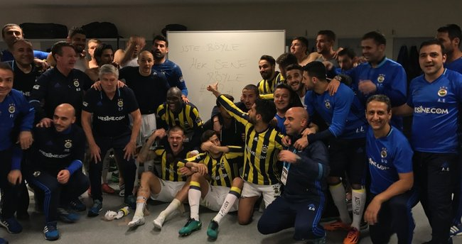 Fenerbahçe futbolculardan olay yaratan paylaşım!
