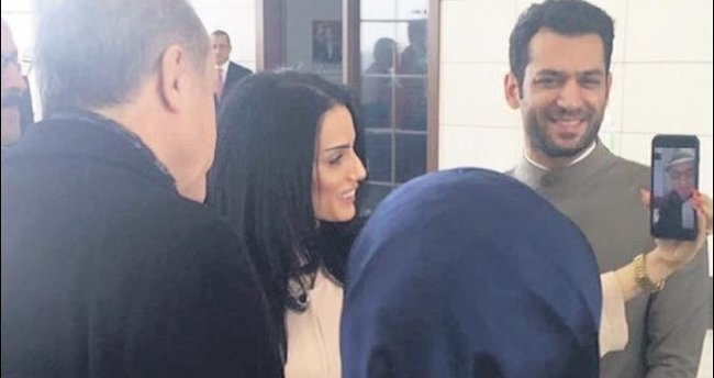 Cumhurbaşkanı Murat Yıldırım'a kız istedi
