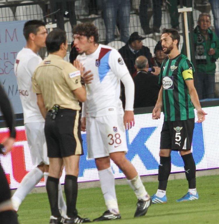 Akhisar Belediyespor - Trabzonspor maçının fotoğrafları