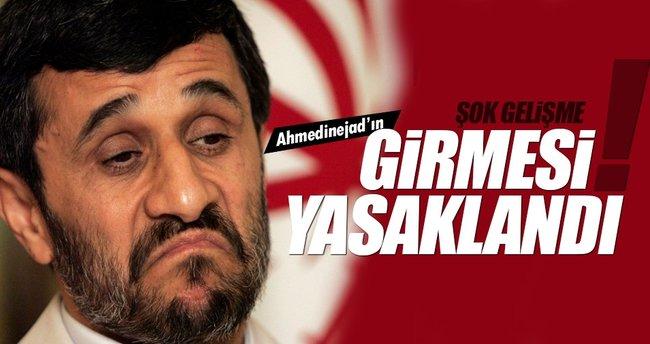 İran'da kutuplaşma! Ahmedinejad'a izin çıkmadı