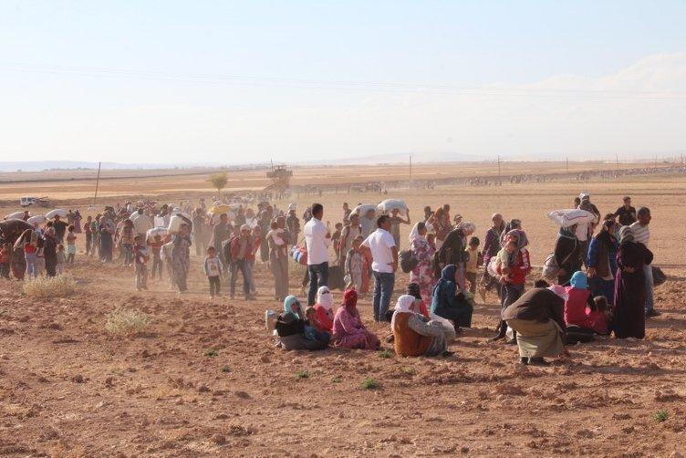 Türkiye sınırında büyük dram