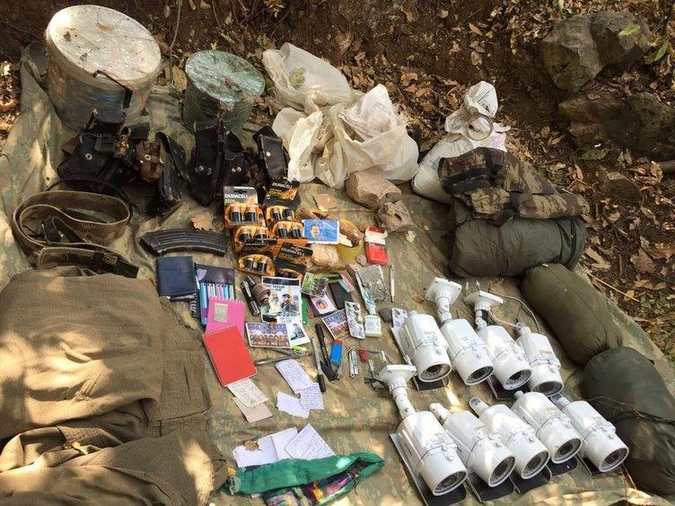 Şırnak'ta terör örgütü operasyonu