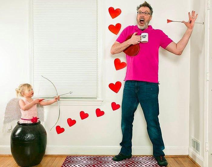 Bu anne babalar çocukları için her şeyi yapar!