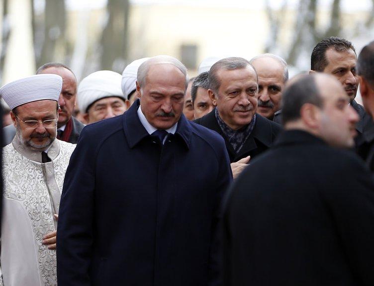Erdoğan Minsk'te cami açtı