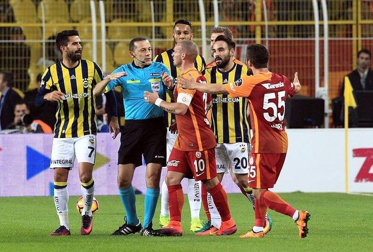 Fenerbahçe - Galatasaray derbisi sosyal medya yorumları