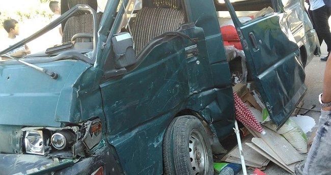 Aksaray'da trafik kazası: 6 yaralı
