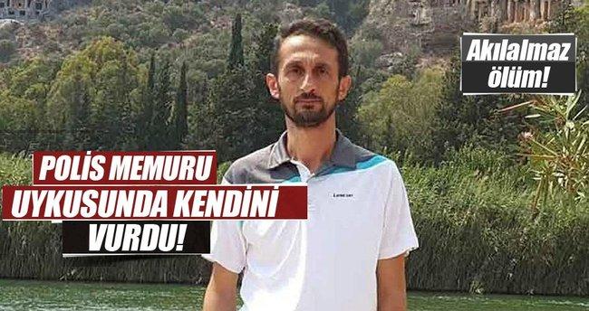 Yastığının altına koyduğu tabanca ateş alan polis hayatını kaybetti