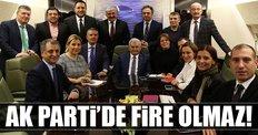 AK Parti'de fire olmaz