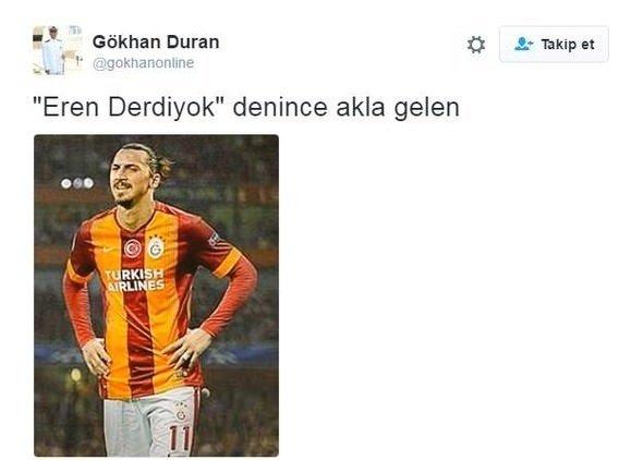 Eren Derdiyok'un rövaşata golü sosyal medyayı salladı!