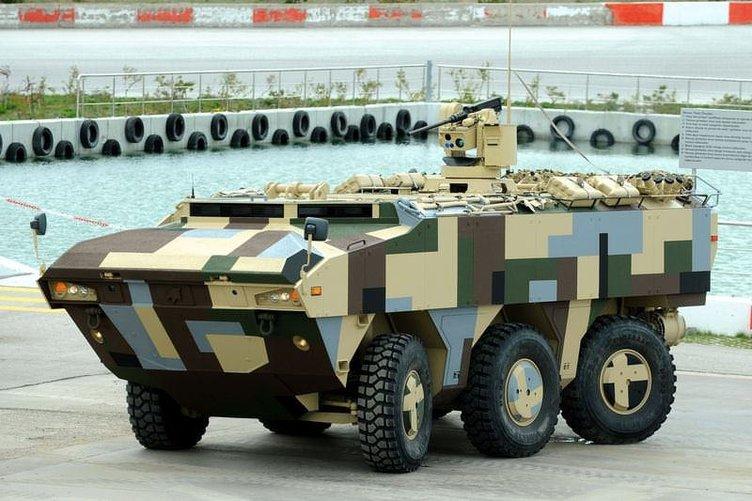 Türk ordusunun zırhlı araçları