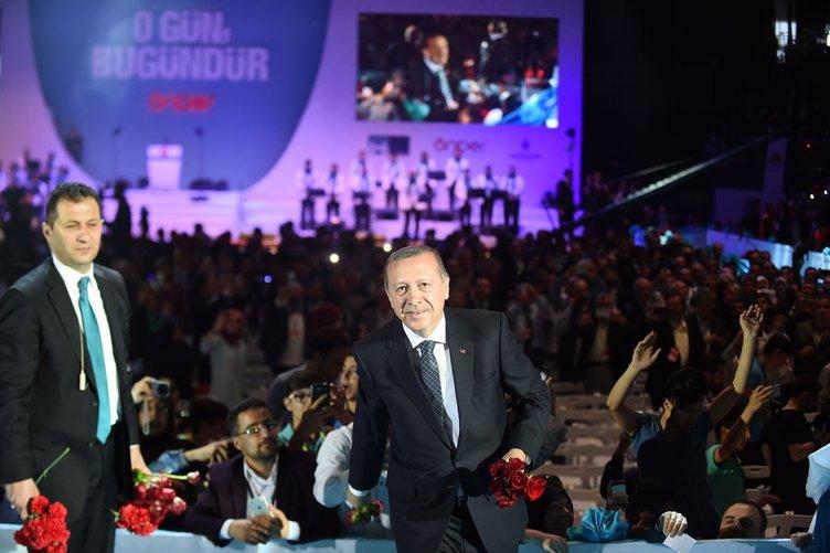 Cumhurbaşkanı İmam Hatip' Gençlik Buluşması'nda