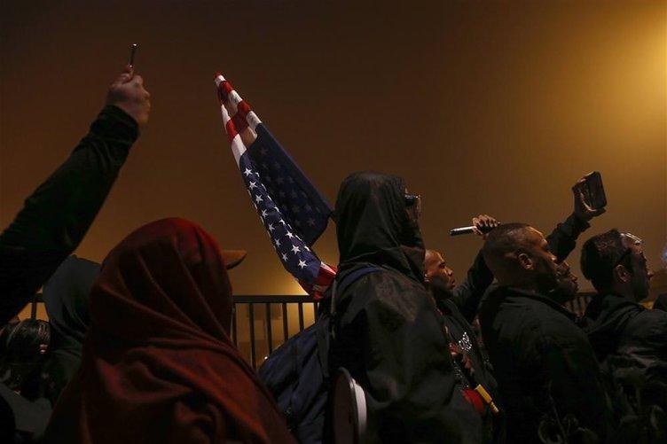 ABD'de protestolar sürüyor