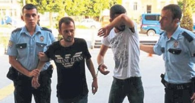 Manavgat'ta iki şüpheli tutuklandı