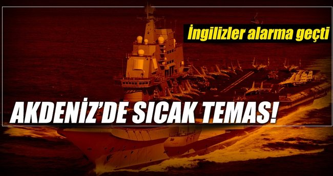 Rus gemisi ödlerini kopardı
