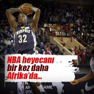 NBA heyecanı yeniden Afrika'da