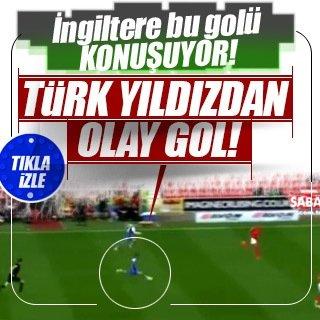 Erhun Öztümer'in golü İngiltere'yi salladı