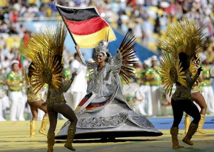 Dünya Kupası'nda muhteşem kapanış