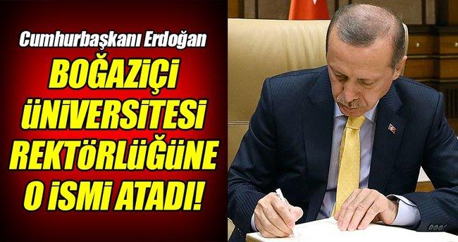 Boğaziçi Üniversitesi'ne atama!