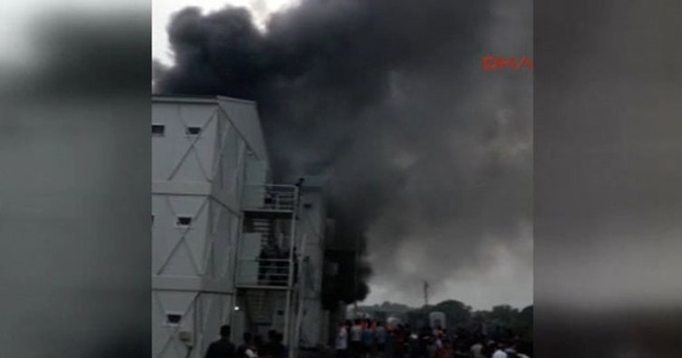 Bakırköy'de büyük yangın!