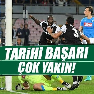 Beşiktaş tarihi başarıya çok yakın