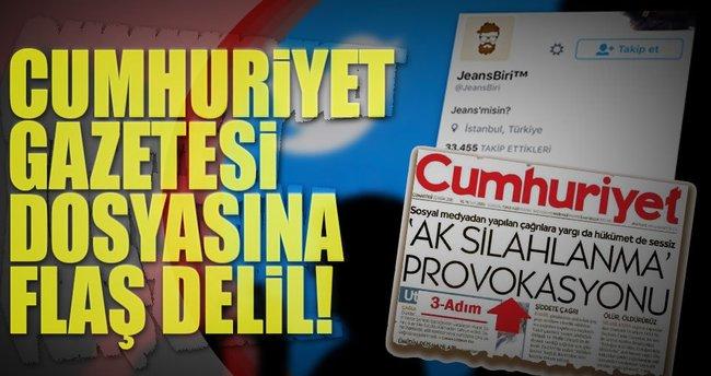 Cumhuriyet Gazetesi dosyasına flaş delil!