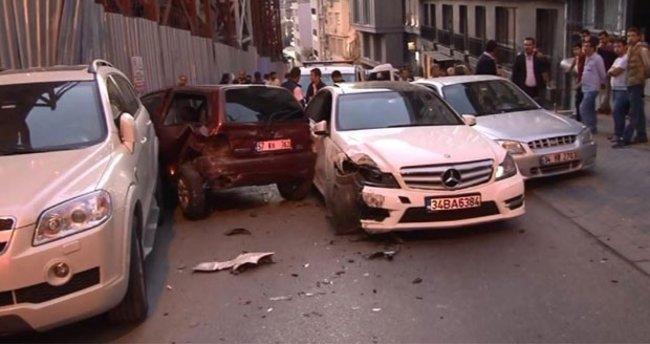 Polisten kaçan Iraklılar caddeyi savaş alanına çevirdi