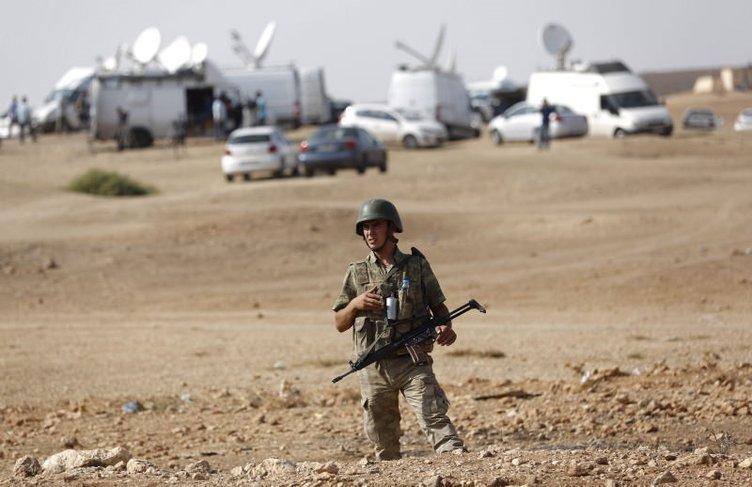 Suriye sınırında gergin dakikalar