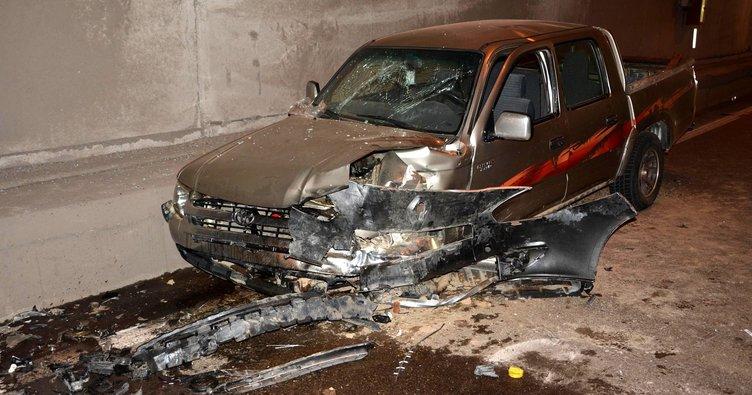 İkizdere Tüneli'nde zincirleme kaza: 10 yaralı!