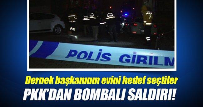 Şemdinli'de Korucu Derneği Başkanı'nın evine bombalı saldırı!