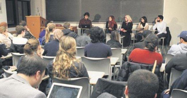 Georgetown'da gaziler paneli