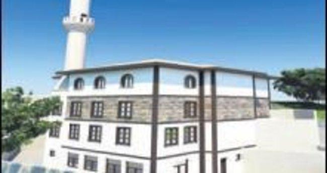 Mahalle camileri için ilk kazma