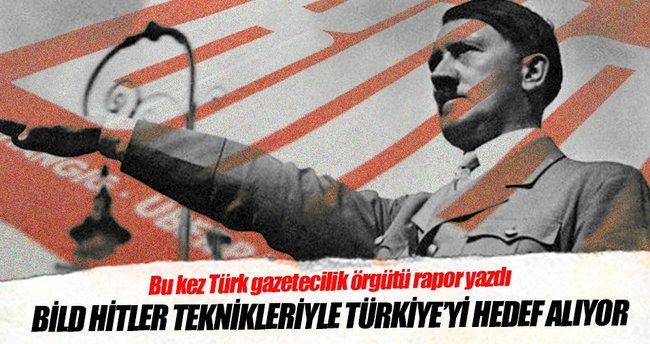 Bild, Hitler teknikleriyle Türkiye'yi hedef alıyor