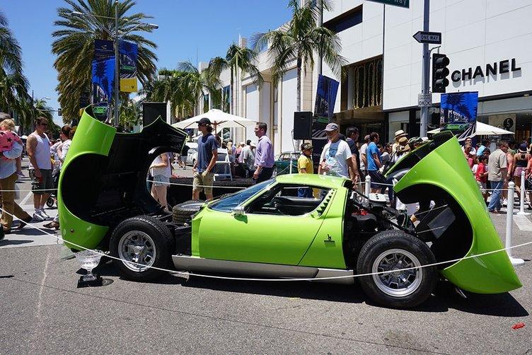 Rodeo Drive Concours D'Elegance Otomobil Şovu