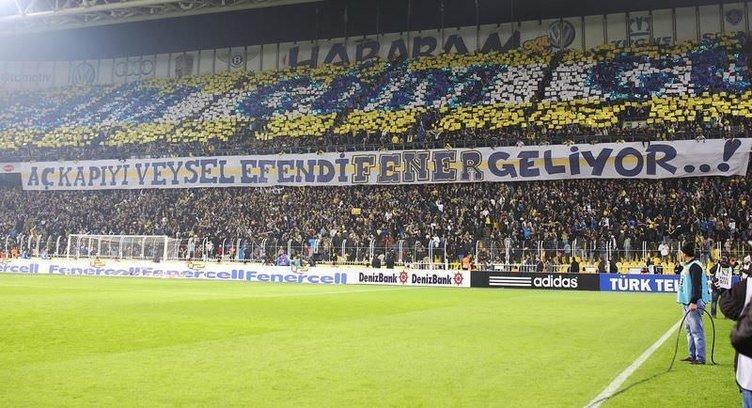 Fenerbahçe - Beşiktaş maçından kareler