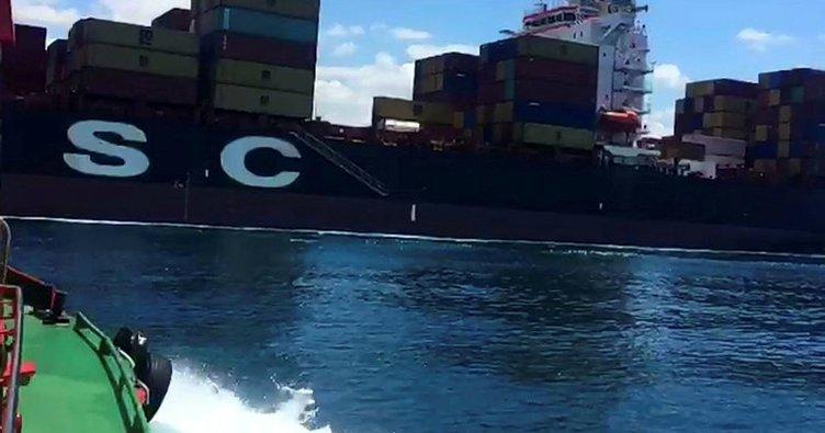 Gemide 215 kilo kokain ele geçirildi
