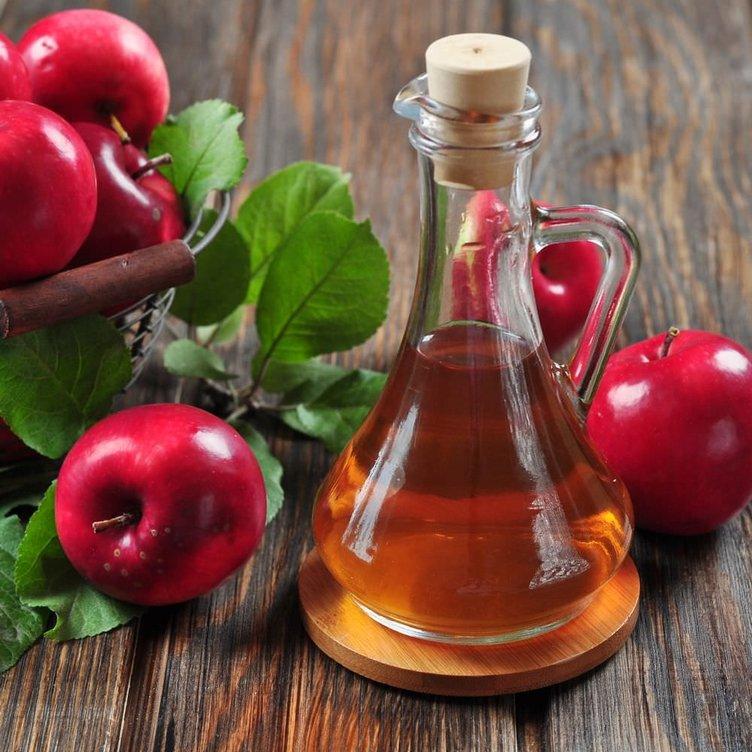 Krampa kepeğe elma sirkesi turşu suyu