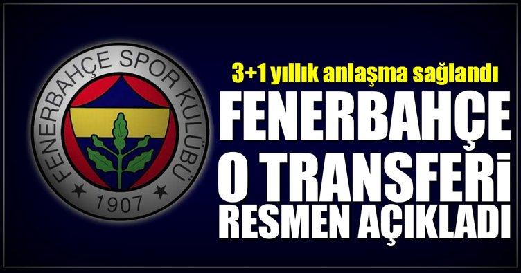 Nabil Dirar, resmen Fenerbahçe'de