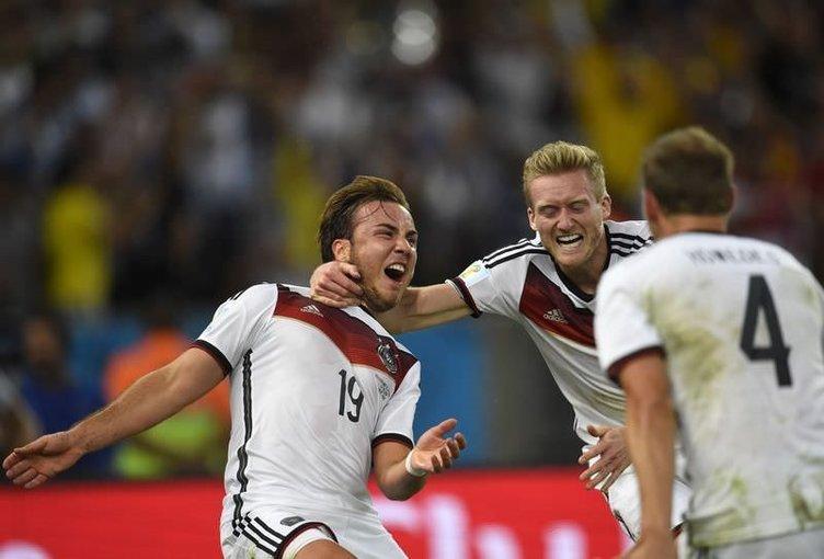 2014 FIFA Dünya Kupası Almanya'nın