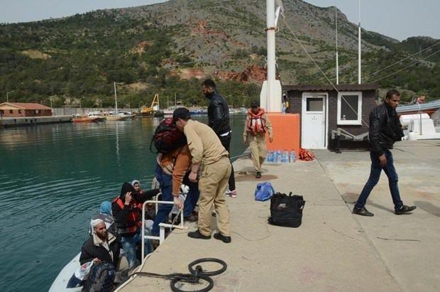 Mersin'de 350 kaçak yakalandı