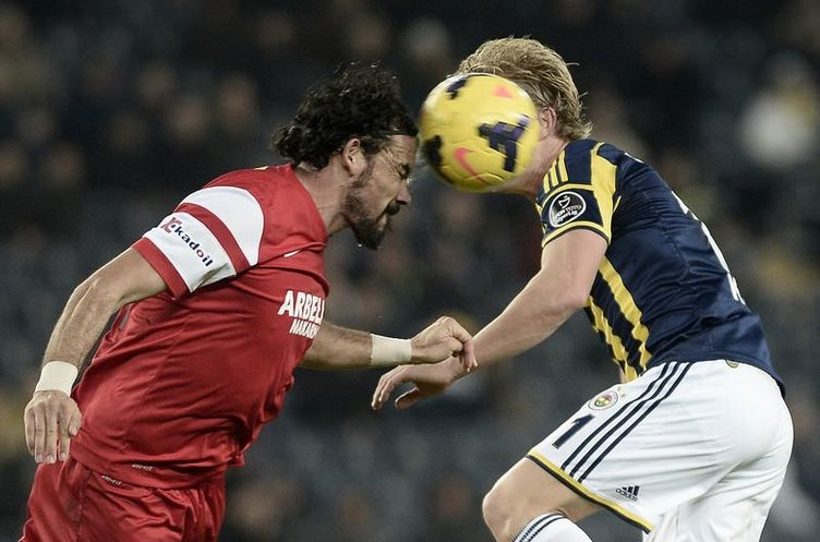 Fenerbahçe - Mersin İdmanyurdu maçının fotoğrafları