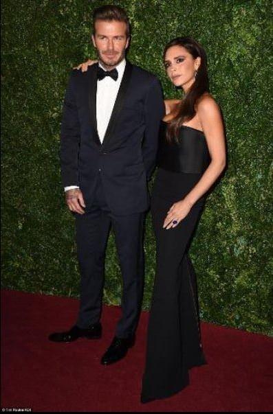 David Beckham 2015'in yaşayan en seksi erkeği seçildi