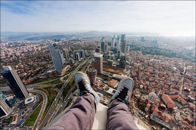 Çılgın adam Türkiye'de