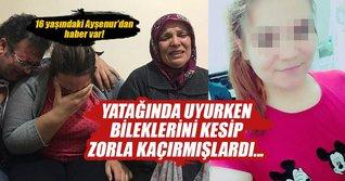 Yatağından kaçırılan genç kız İstanbul'da bulundu