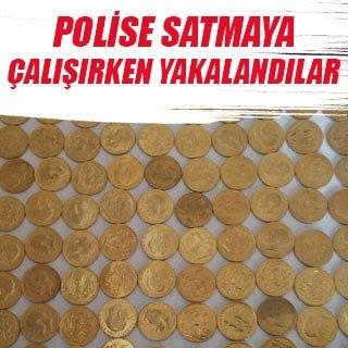 Polise sahte altın satmak isteyen 2 Suriyeli tutuklandı