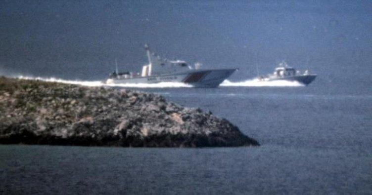 Kardak'ta Türk ve Yunan botları arasında kovalamaca!