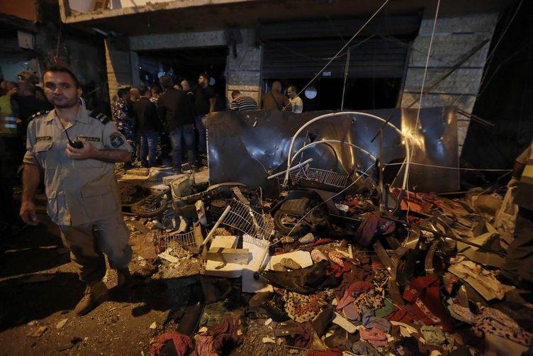 Beyrut'ta intihar saldırısı