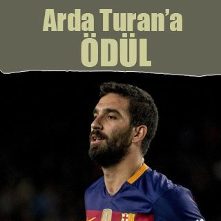 "Arda Turan'a ""Bireysel Başarı"" ödülü"